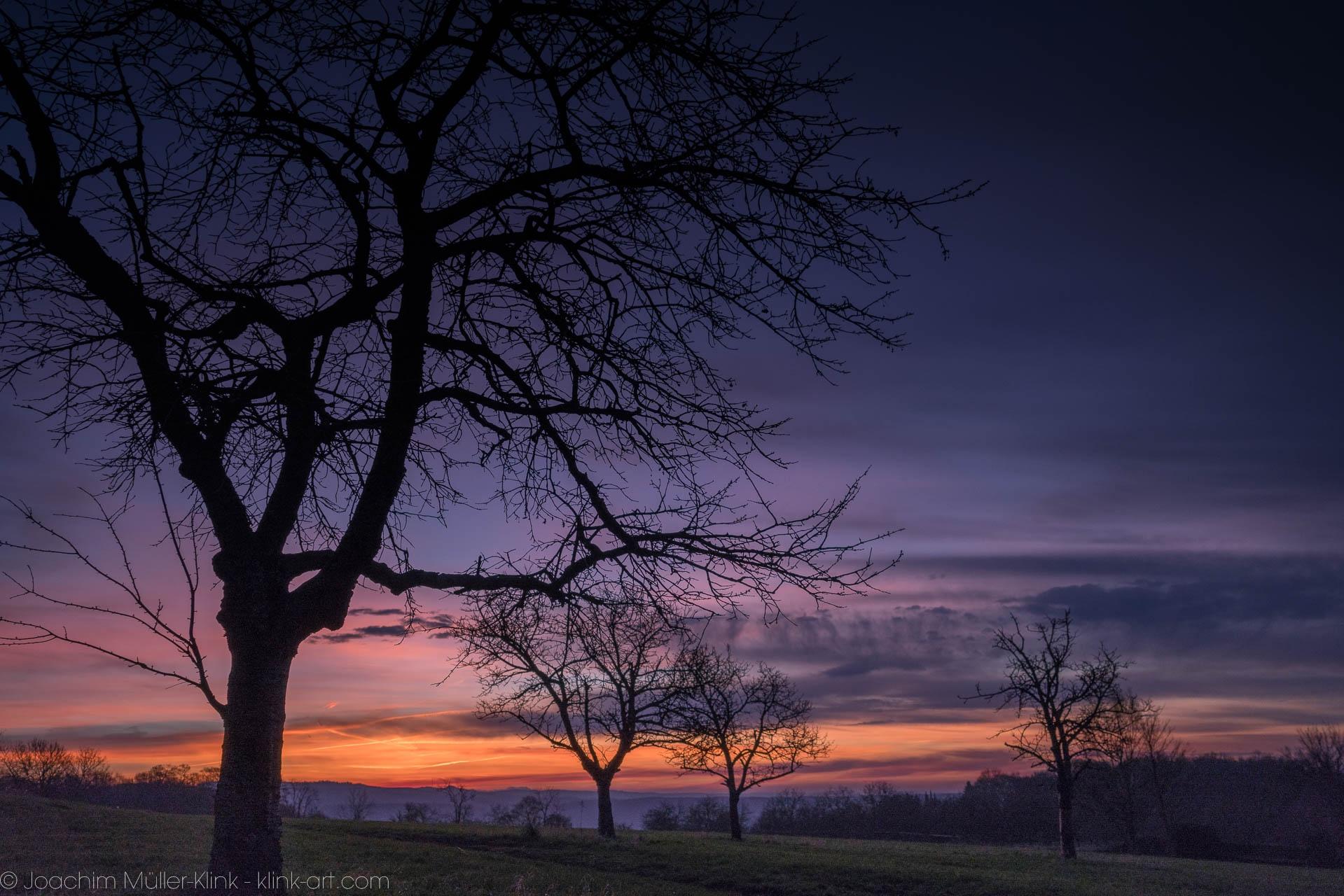 Rodderberg im Morgenlicht - Rodderberg in the morning light