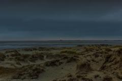 Leuchtfeuer Westerheversand vor Sonnenaufgang - Westerhever Lighthouse before sunrise