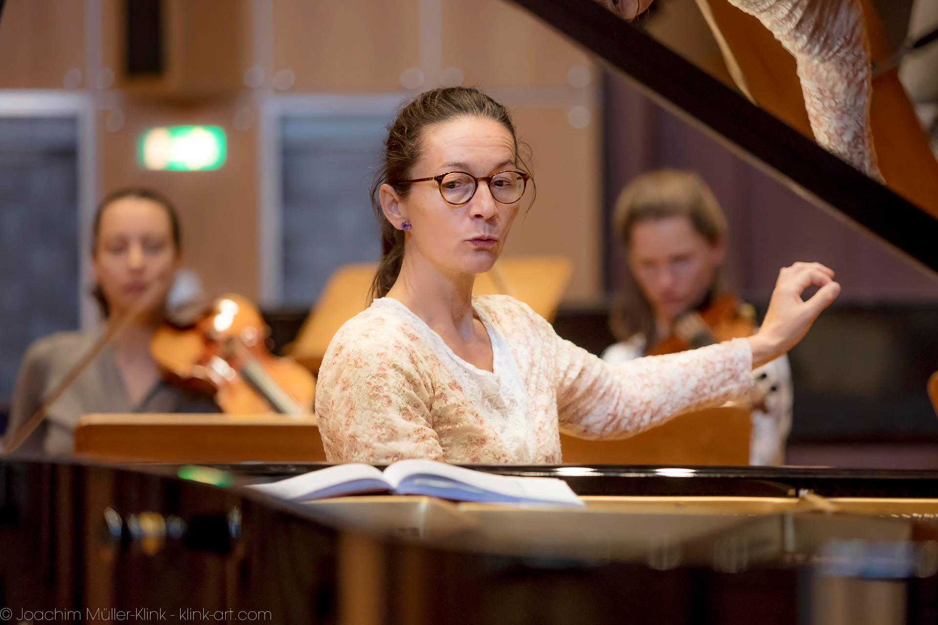 Sibylle Wagner zeigt den Einsatz