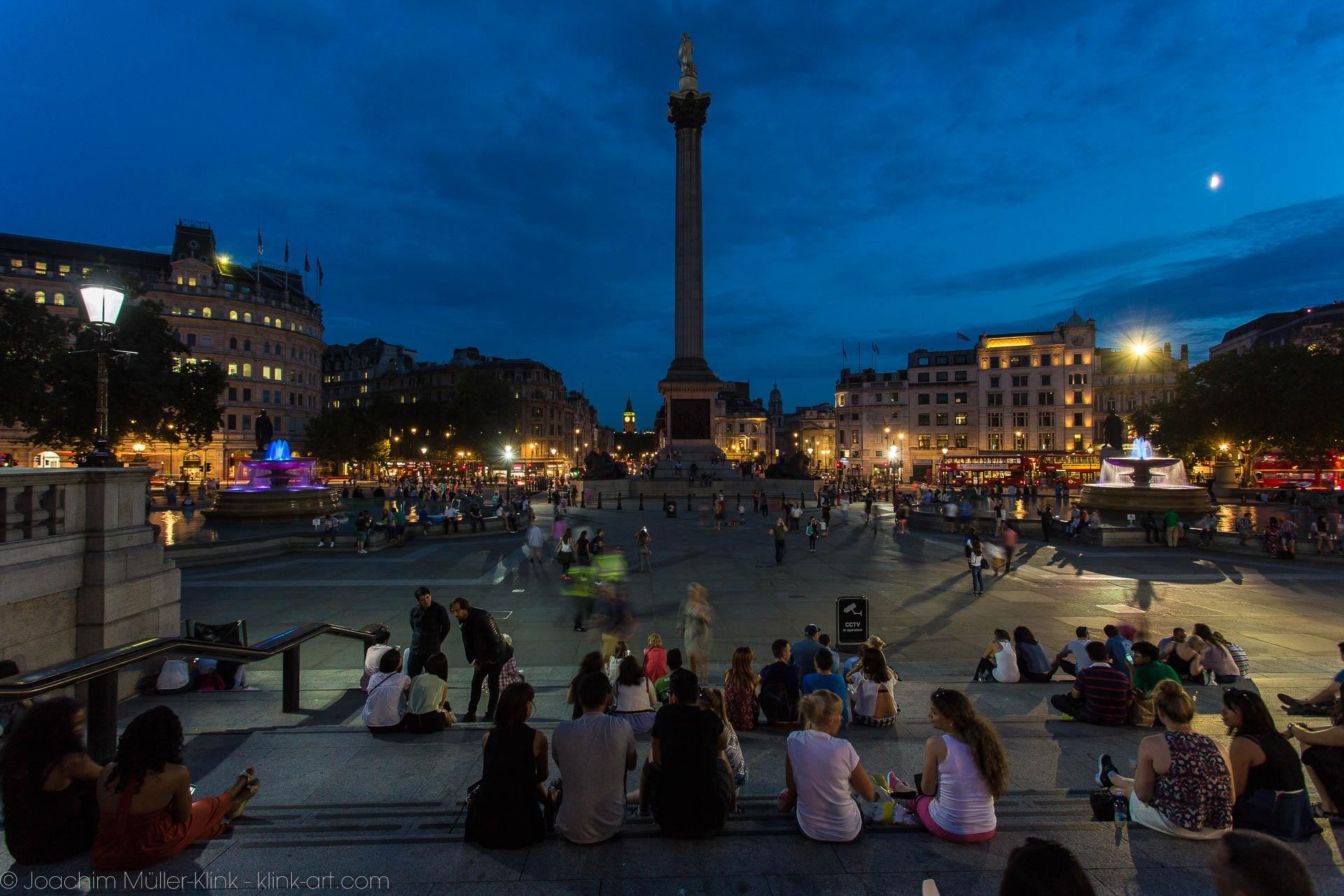 Treffpunkt Trafalgar Square