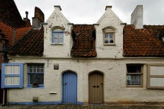 Doppelhaus aus Backstein - Double House made out of bricks